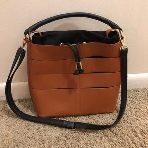Justfab hand bag. Used one time. Perfect condition